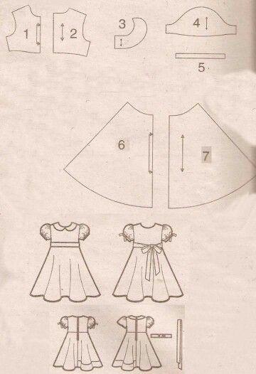 Pola Baju Anak Perempuan