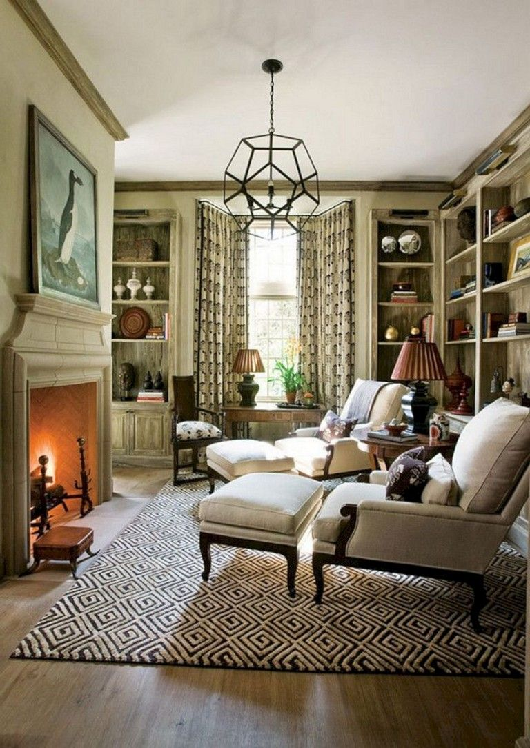 22 Gorgeous Small Keeping Room with Fireplace Ideas For ... on Fun Living Room Ideas  id=62450