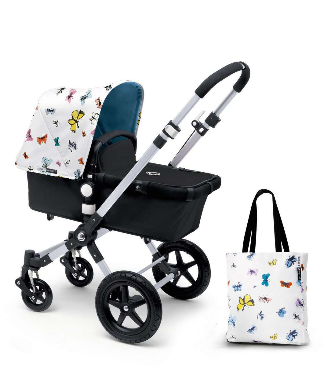Super Limited Edition Bugaboo Cameleon³ Base + Andy Warhol Sun Canopy NG-87