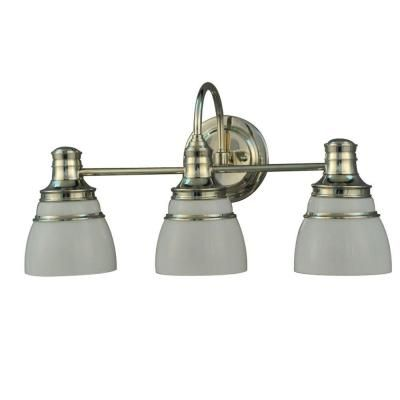 Martha Living 3 Light Seal Harbor Collection Vanity Fixture V357pk03 At The Home Depot