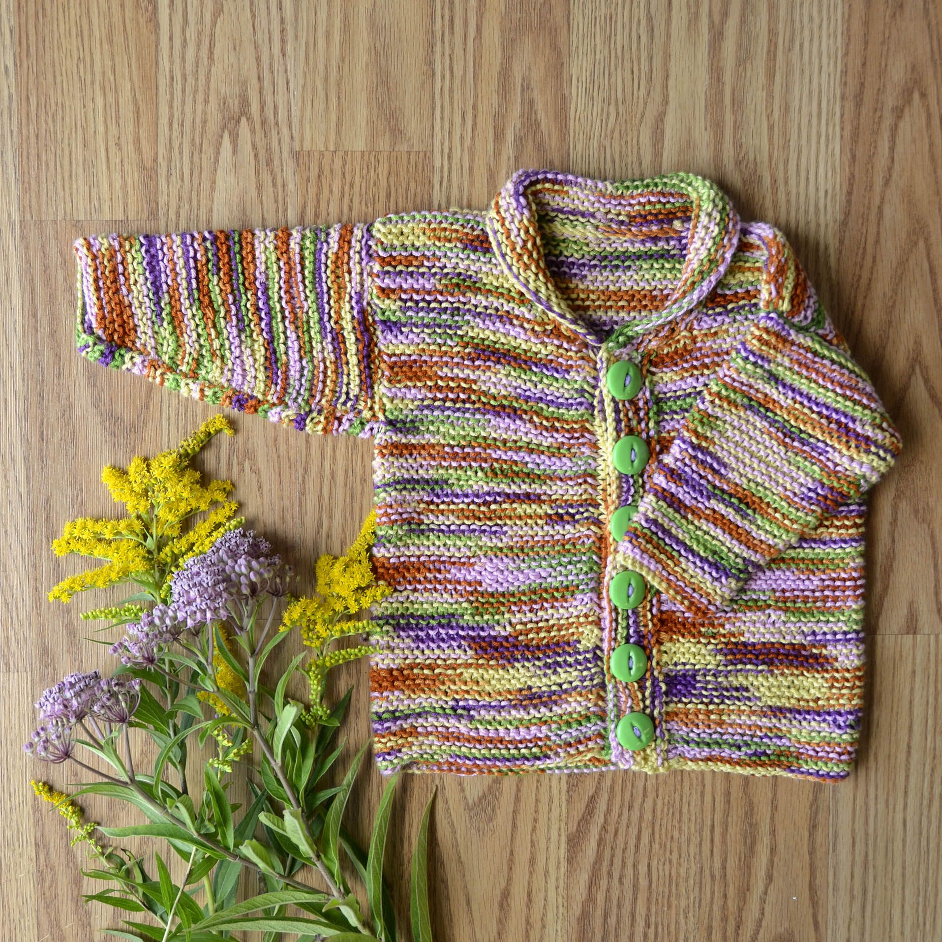Free Pattern Friday - Easy Baby Cardi | Baby sweater ...