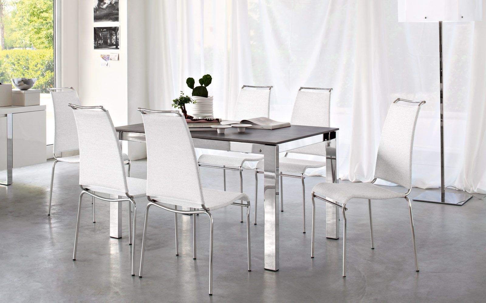 AIR HIGH high-backed stackable chair - Calligaris CS/1069   ER ...
