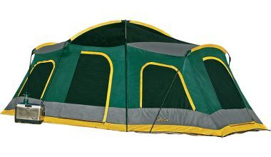 Cabela's Deluxe Backwoods Three-Room Cabin $279 99 | Camping