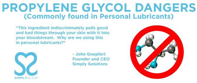 Propylene glycol dangerous skin care