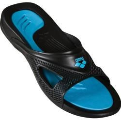 Photo of Arena Hydrofit men's sandal, size 42 in black / turquoise, size 42 in black / turquoise Arena