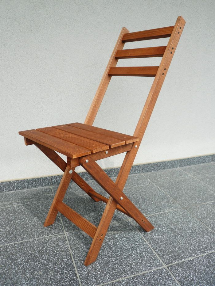 Krzeslo Krzesla Drewniane Skladane Balkonowe Patio Chair Folding Chair Furniture