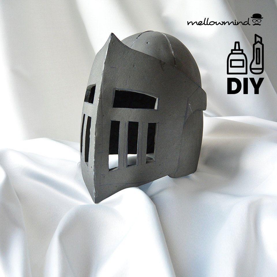 Diy Knight Helmet Template For Eva Foam By Mellowmindcosplay