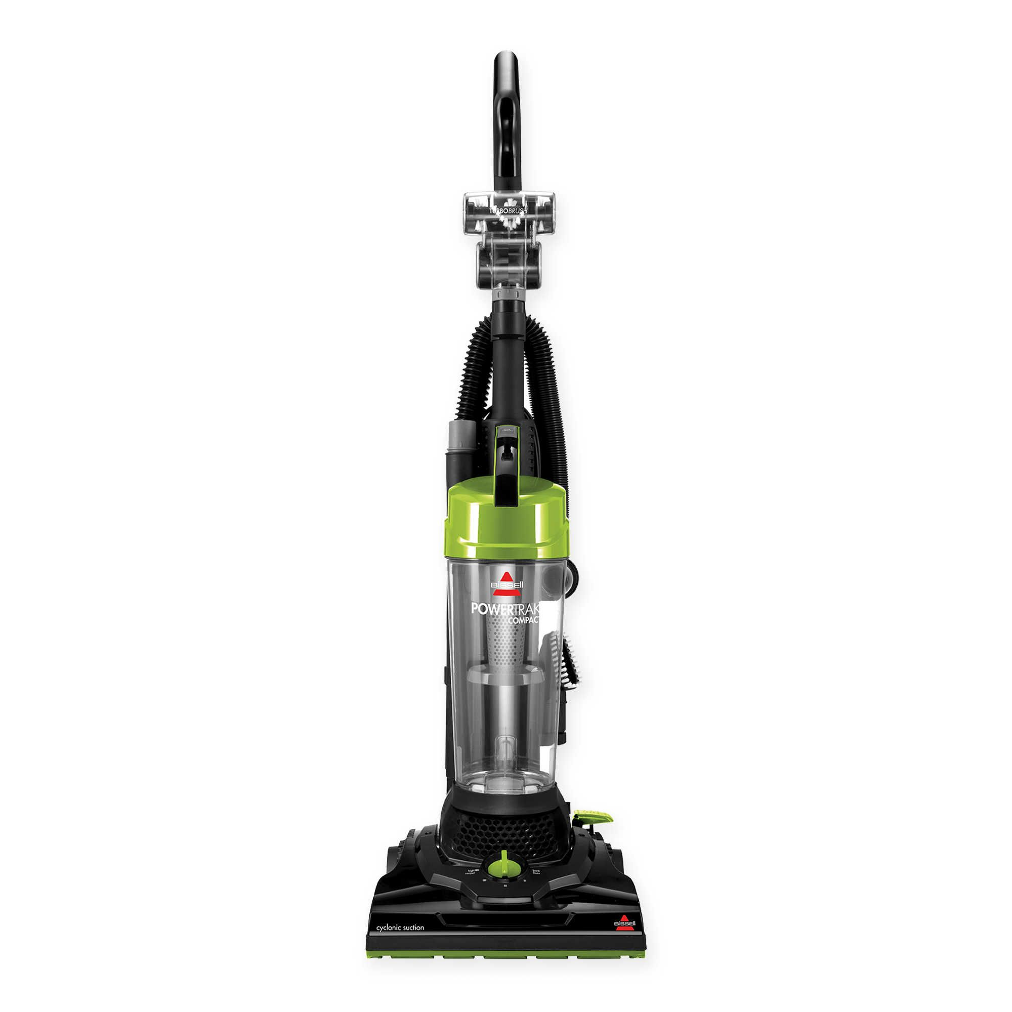 Bissell Powertrak Compact Upright Vacuum Cleaner In Black Lime