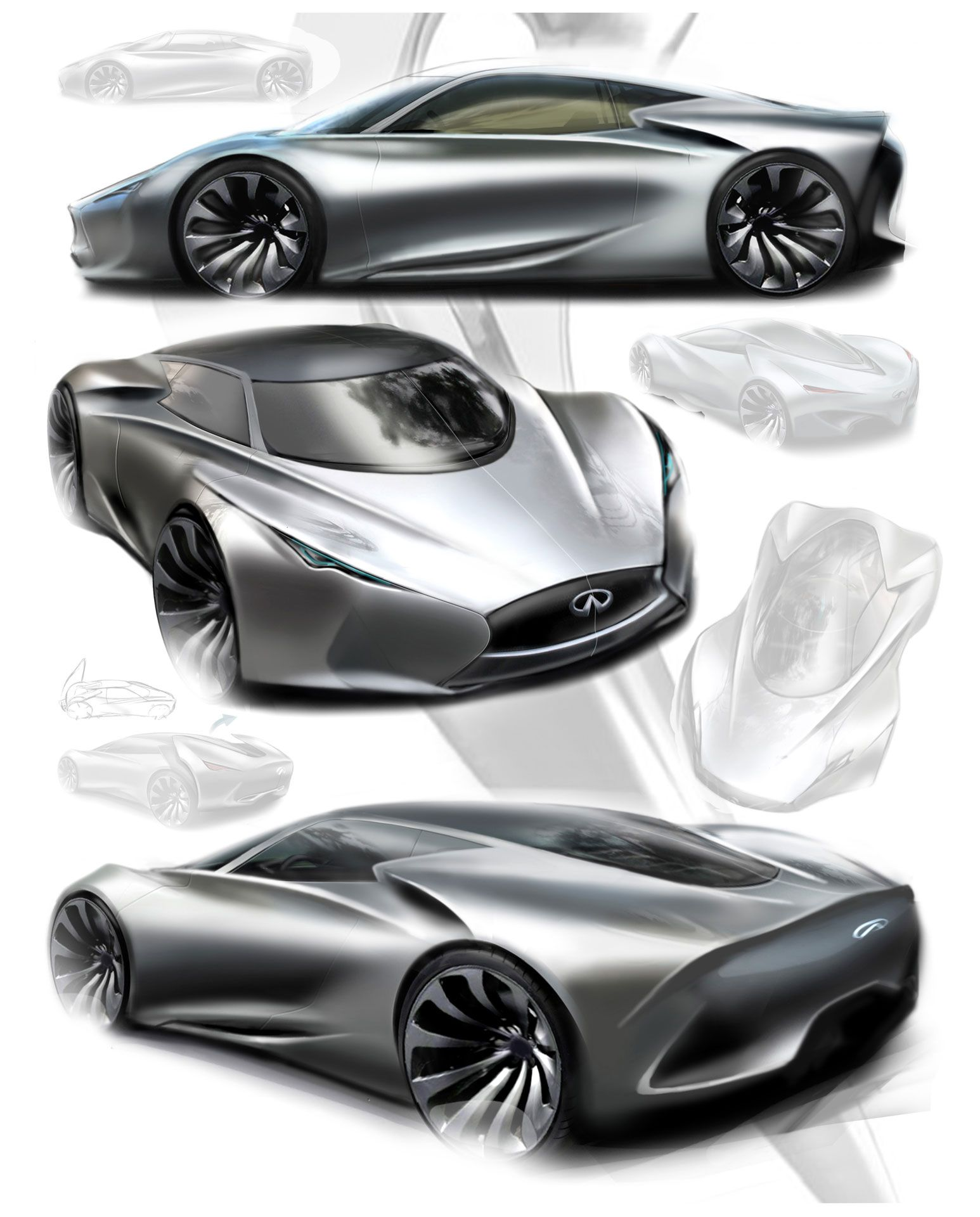 Inspiration Sketches Pinterest Concept Cars Car Sketch And