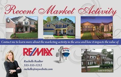 real estate just sold flyer templates - real estate market update postcards are making a huge