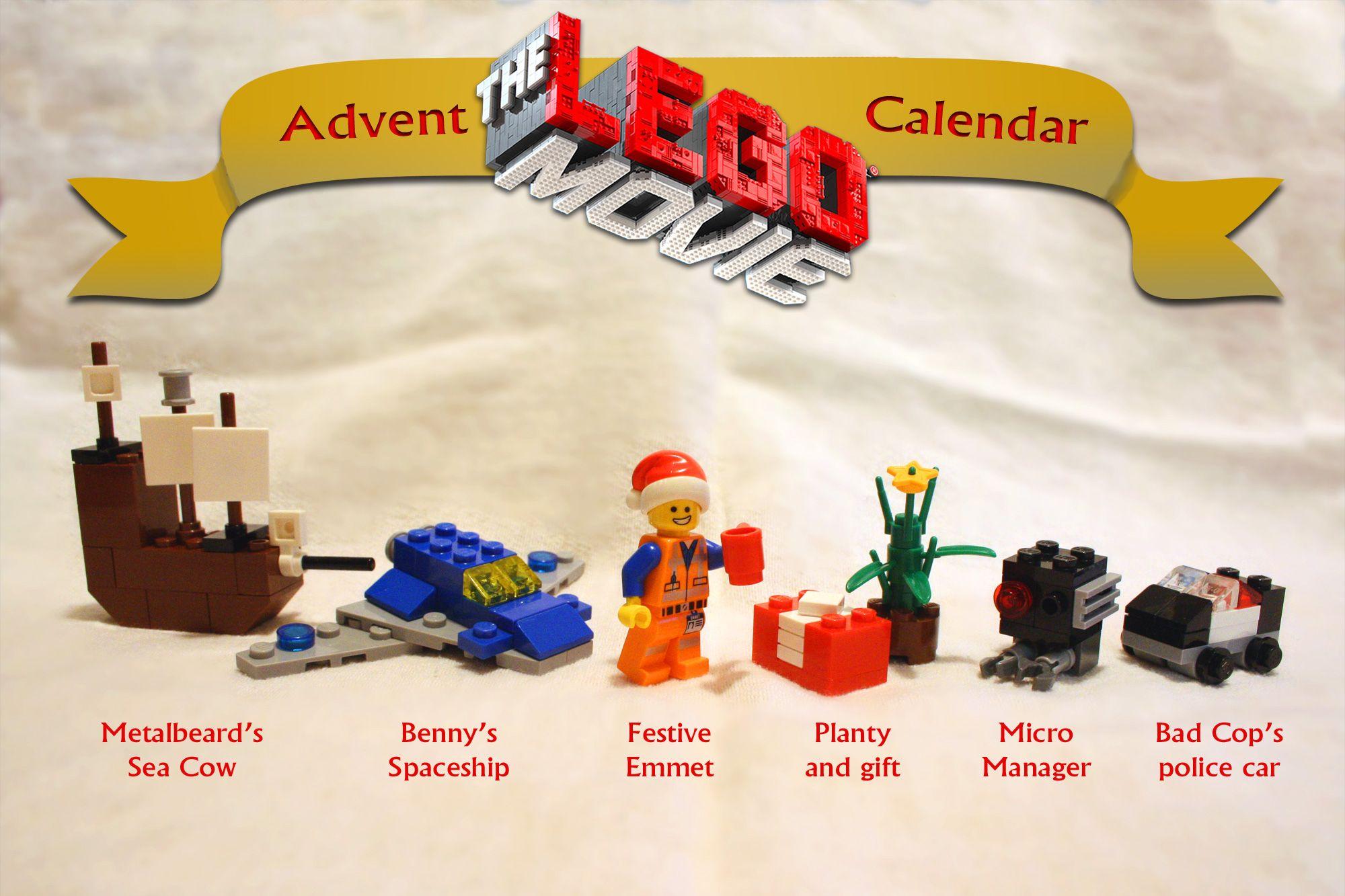 The Lego Movie Advent Calendar Harry Potter Advent Calendar