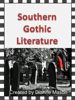 southern gothic literature | define gothic, power point, Powerpoint templates