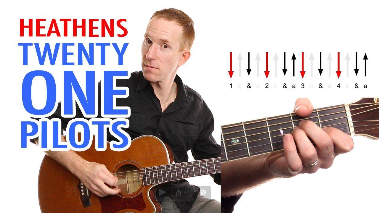 Heathens Twenty One Pilots Guitar Lesson Easy How To Play
