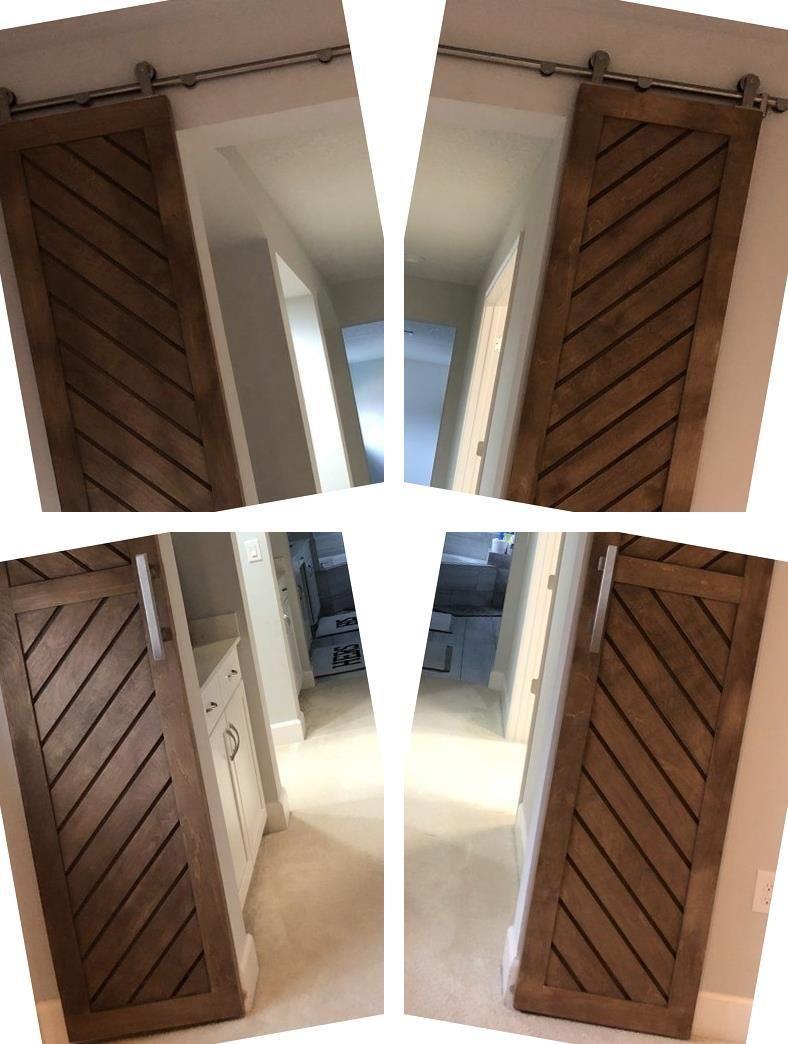 Barn Door Track Steel Barn Door 32 Inch Sliding Barn Door Interior Sliding Glass Doors Interior Barn Doors Indoor Doors