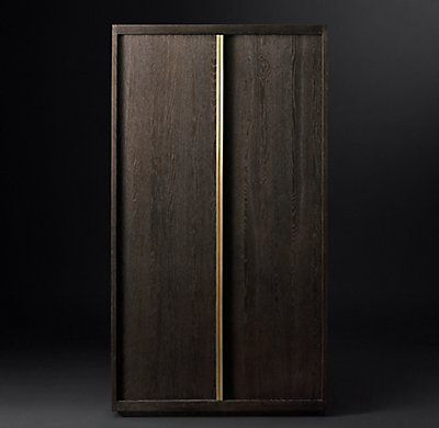 Bezier Panel Double Door Cabinet Custom Interior Doors Double Doors Cupboard Design