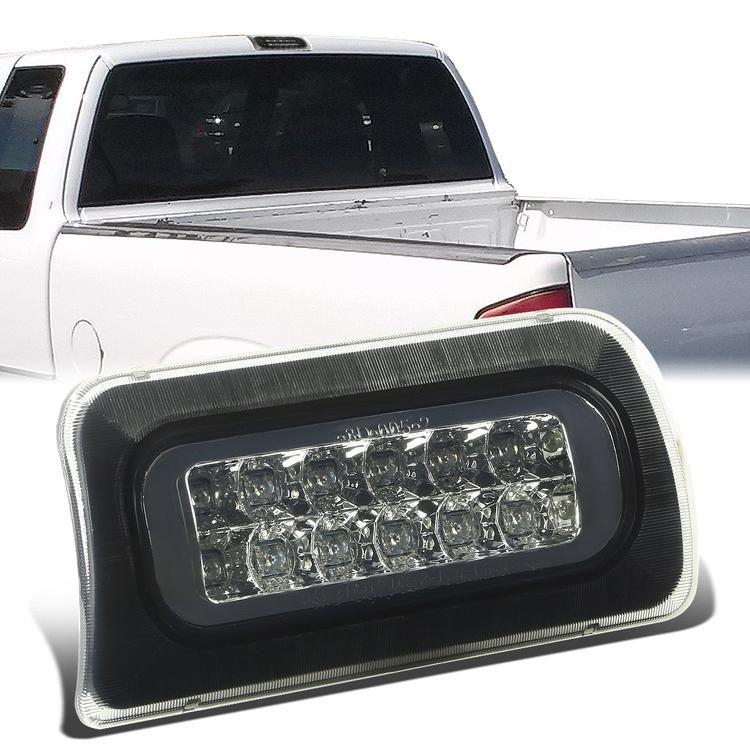 D Motoring 94 03 Chevy Chevrolet S10 Gmc Sonoma Isuzu Hombre Third Brake Light Led Smoked Lens Plug N Play Chevy S10 Chevy Gmc