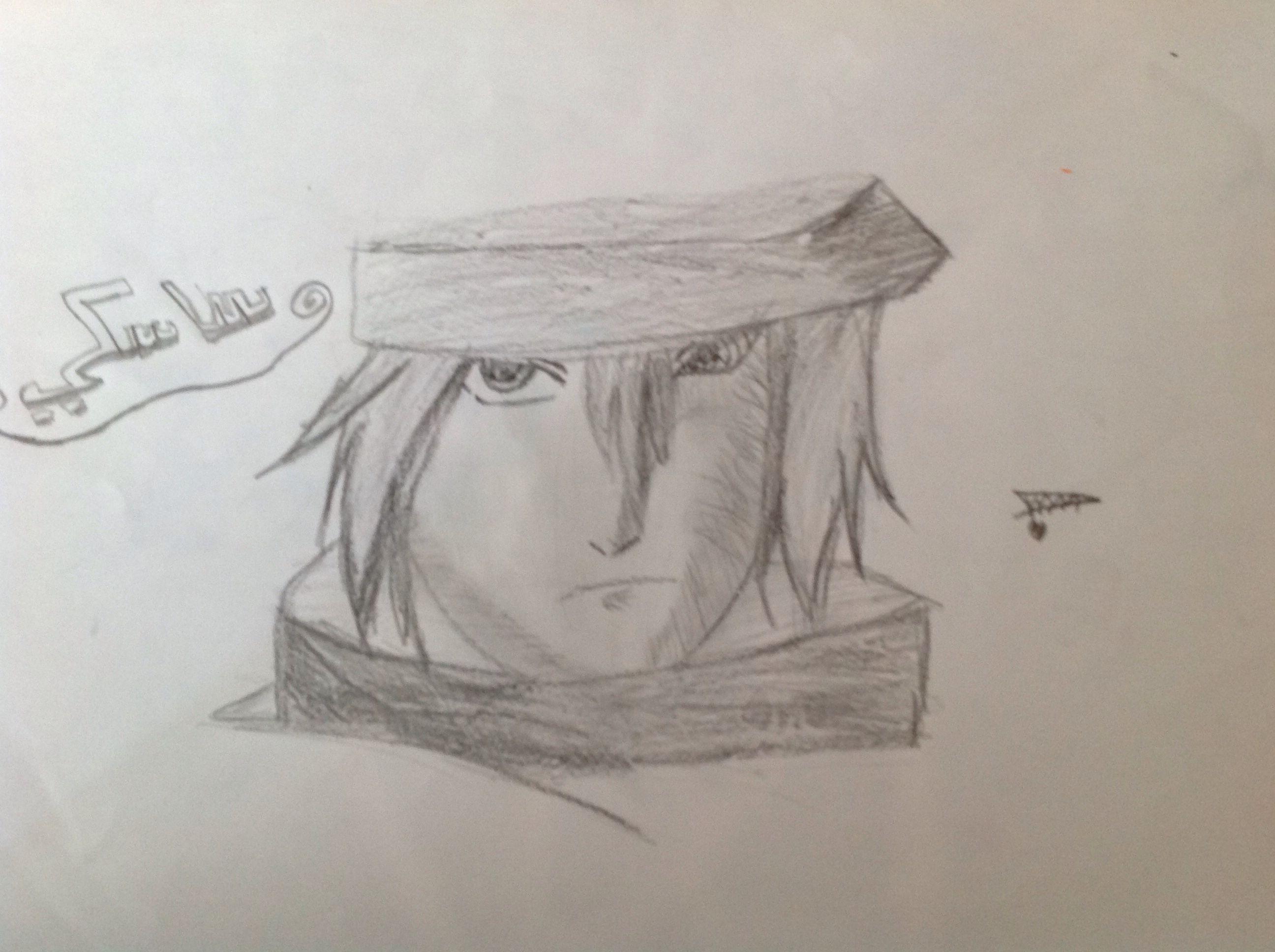 رسم ساسكي Art Male Sketch Male