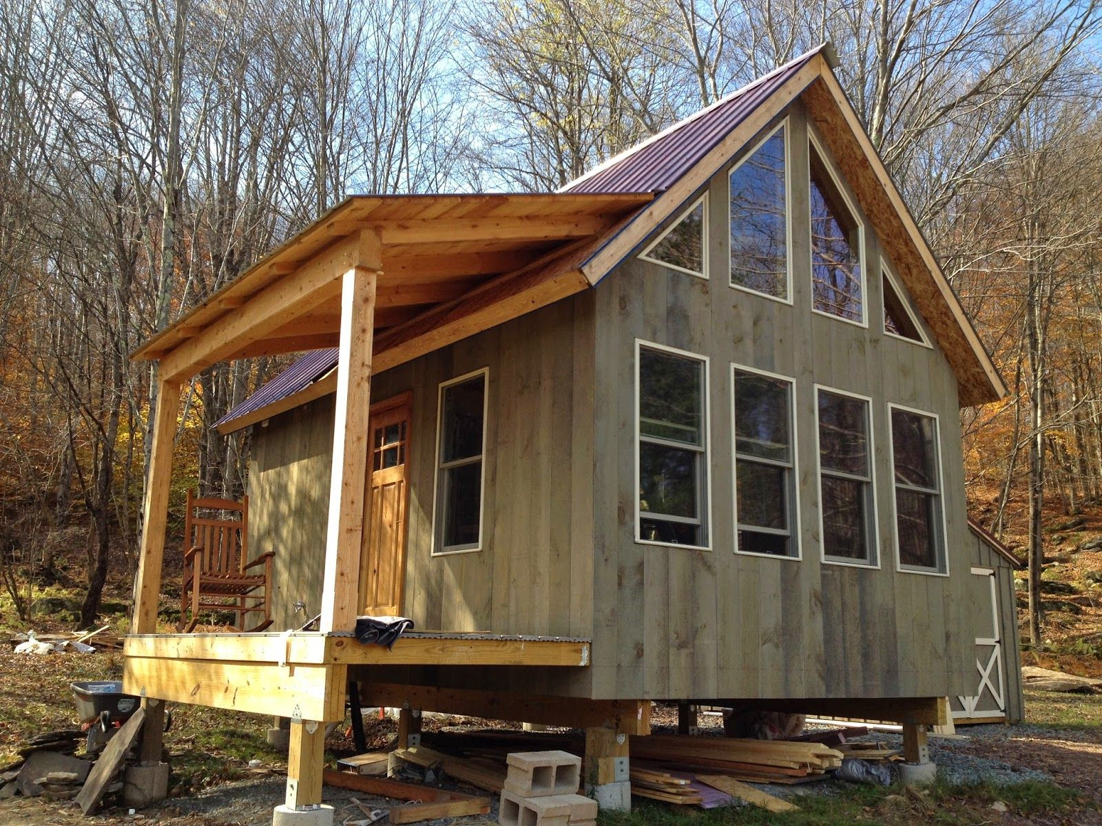 Adam And Karen S Tiny House In Equinunk Pa About Us Off Grid House House Tiny House