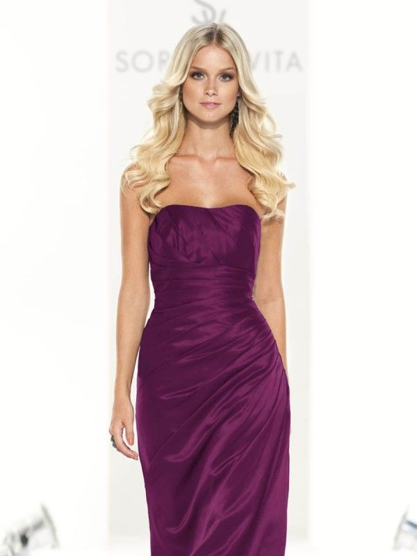 Sorella Vita 8107 Bridesmaid Dress (in Mulberry) | Vestidos fucsia ...