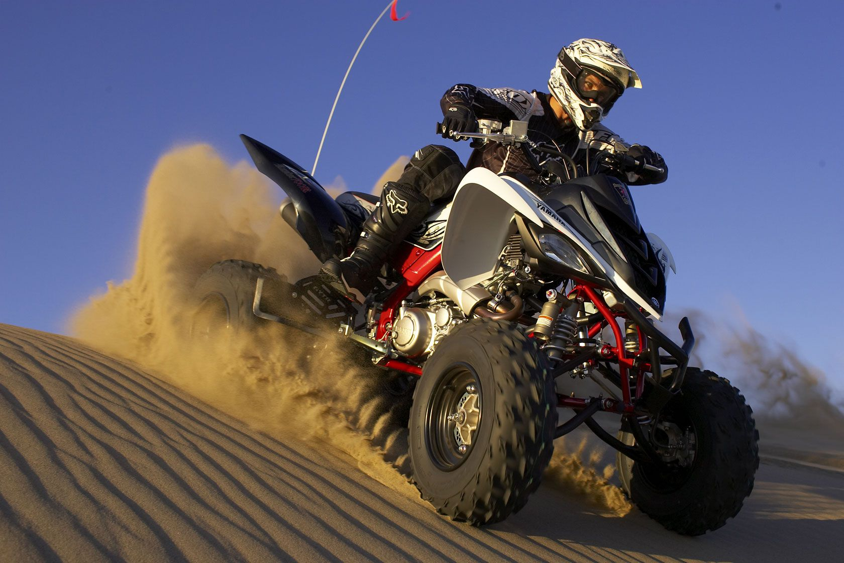 2015 yamaha raptor 700r first test review quad atv en acci n pinterest yamaha atv and motocross