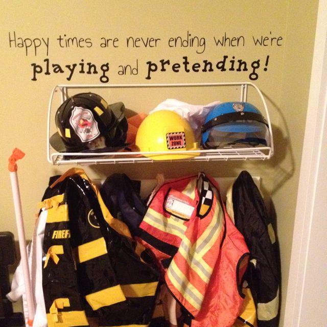 Photo of Cute saying for a dramatic play area