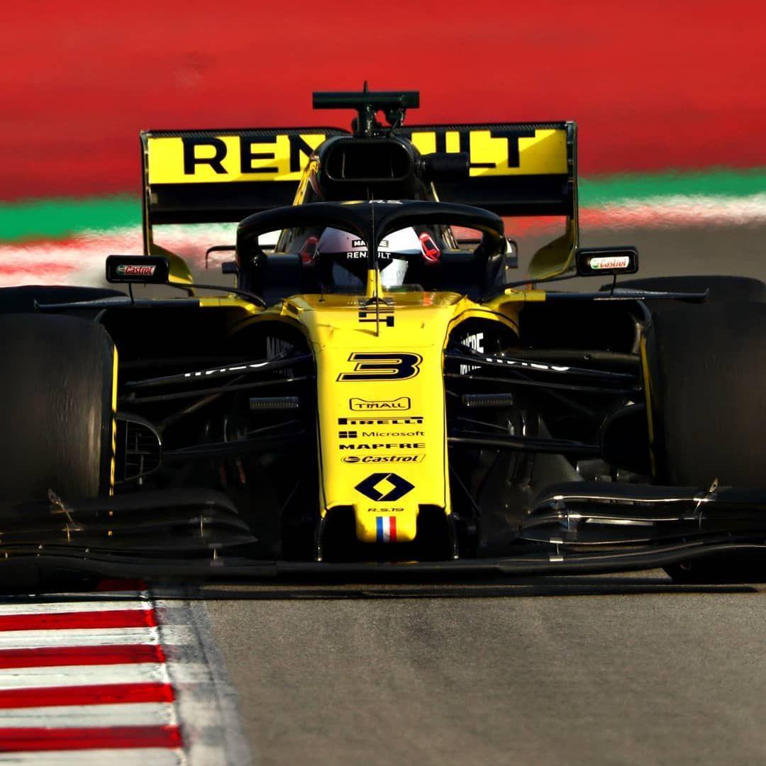 2019 F1 Testing Circuit De Catalunya #3 Daniel Ricciardo