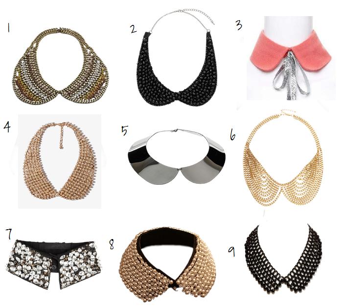 Cuellos tipo Peter Pan | bufandas | Pinterest | Collares, Ropa y ...