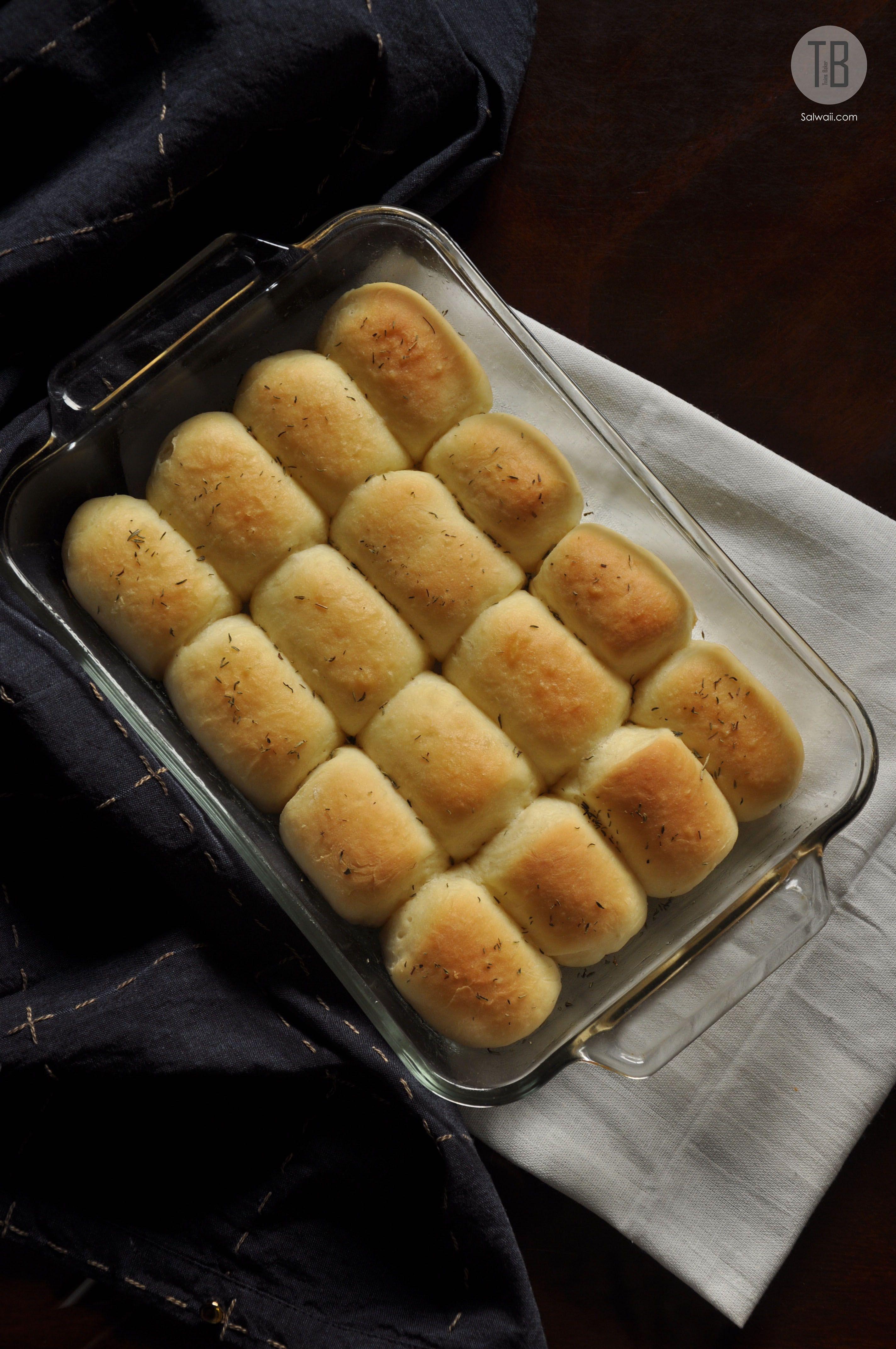 خبز الدينر رولز Dinner Rolls Hot Dog Buns Bread Dinner Rolls