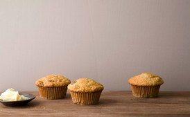 Golden Raisin Oat Bran Muffins