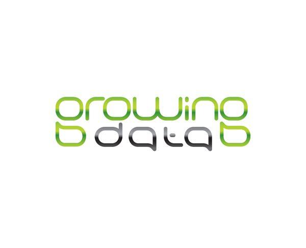 Grouing Data Logo by Slavka Bozhinova, via Behance