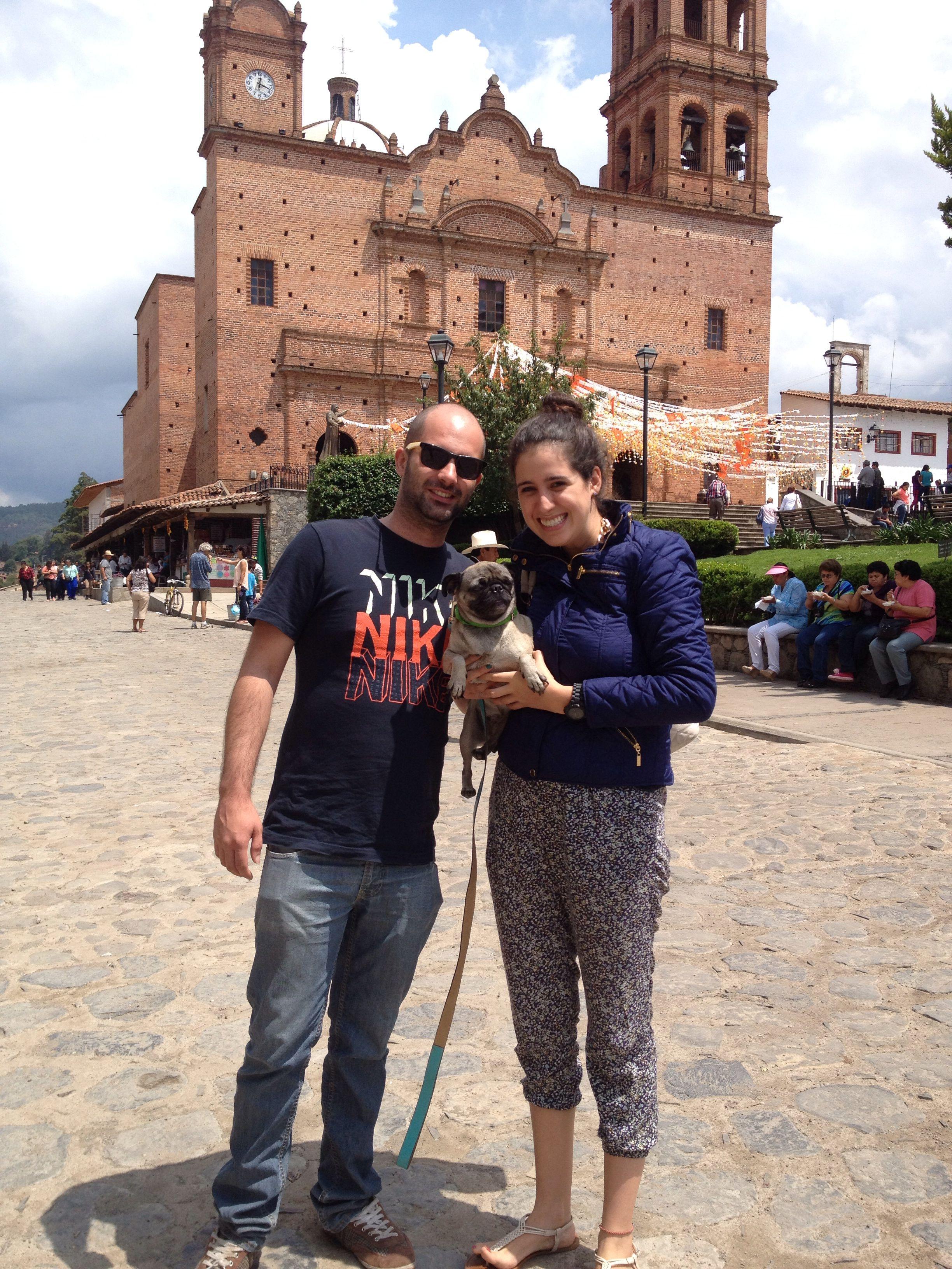 Conociendo México con su nueva hija! #TheStoryOfUs