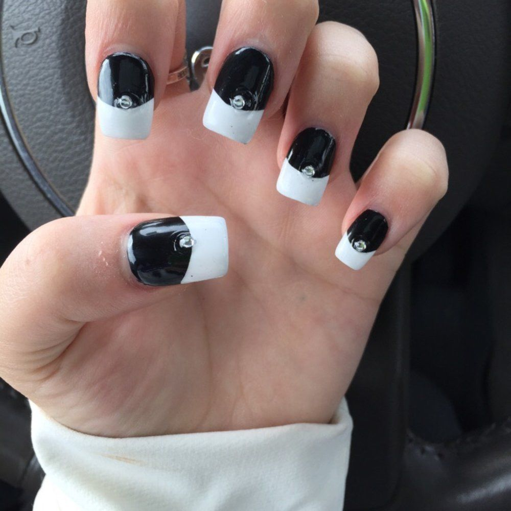 Pin by Amanda Harrison on Nail Collection | Pinterest | Black ...