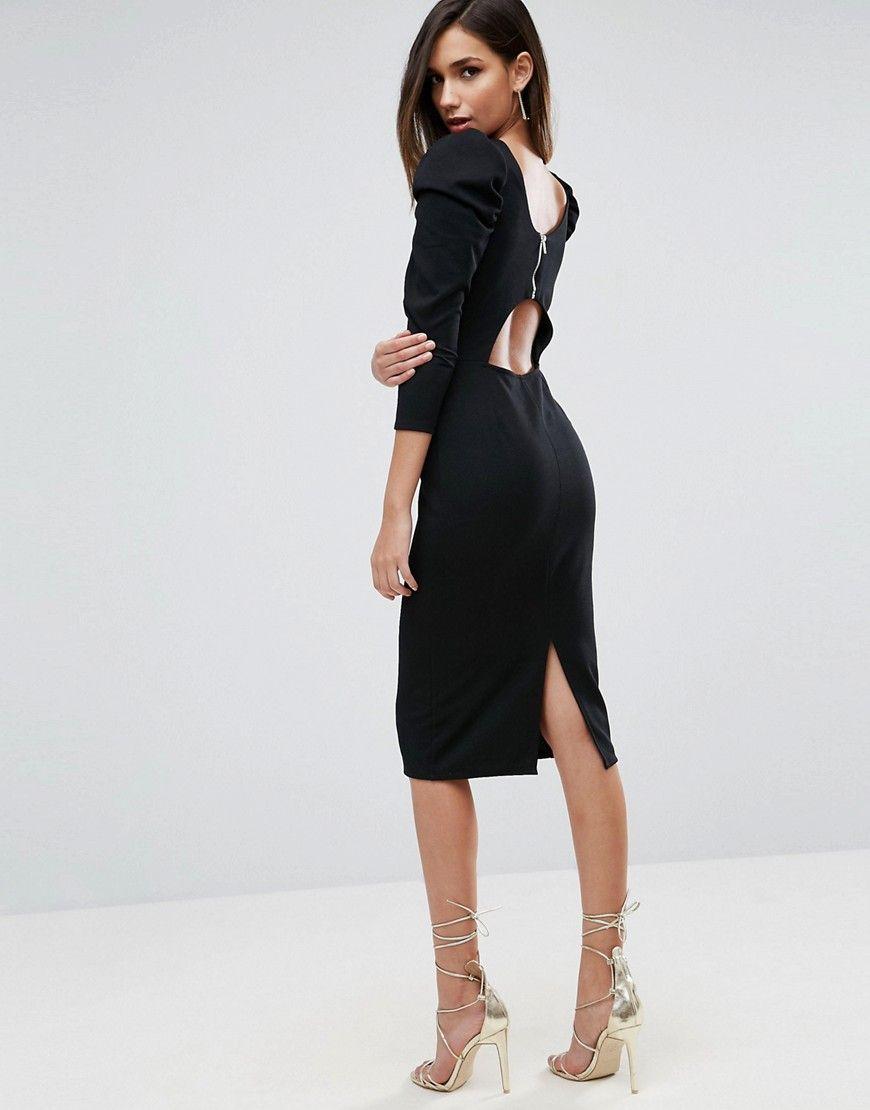 mode #ootd #outfit #fashion #style #online #Damen ASOS – Midikleid ...