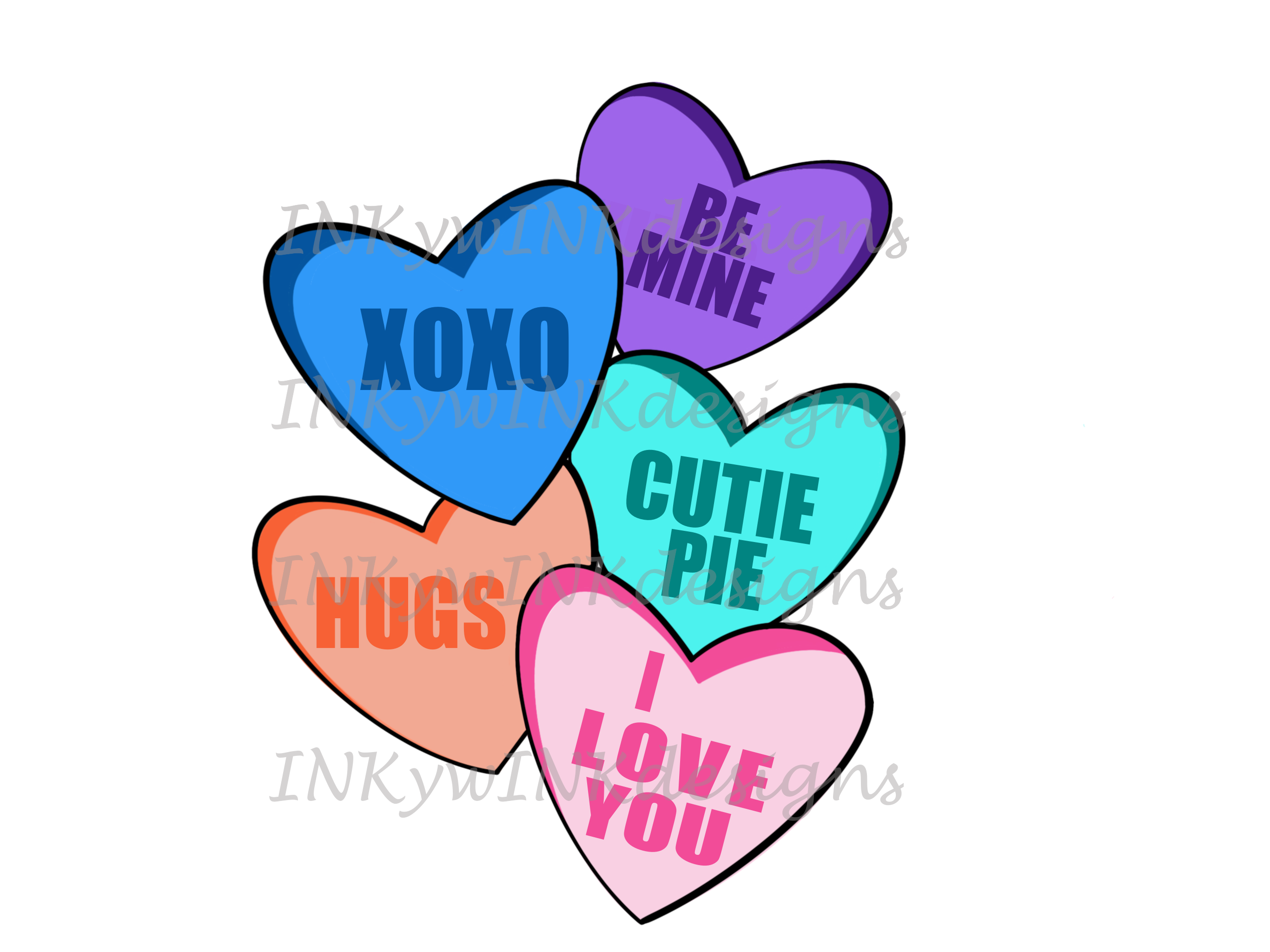 Valentines Day Heart Candy Png Love Valentines Day Hearts Candy Valentine Candy Hearts Halloween Pillows