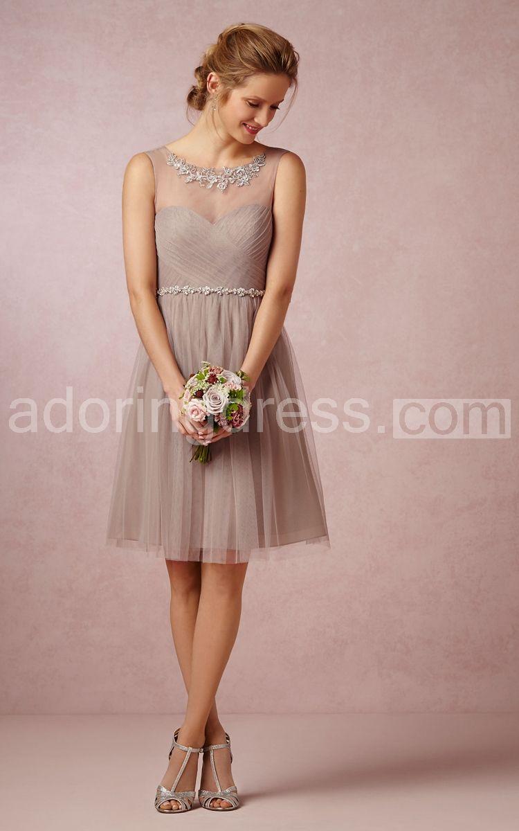 a56f95820f82 rustic tan - Google Search | wedding | Bridesmaid dresses, Tulle ...