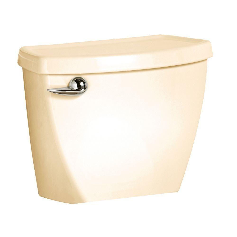 American Standard Cadet 3 1 6 Gpf Single Flush Toilet Tank Only In Bone Ivory Flush Toilet American Standard Kitchen Bath