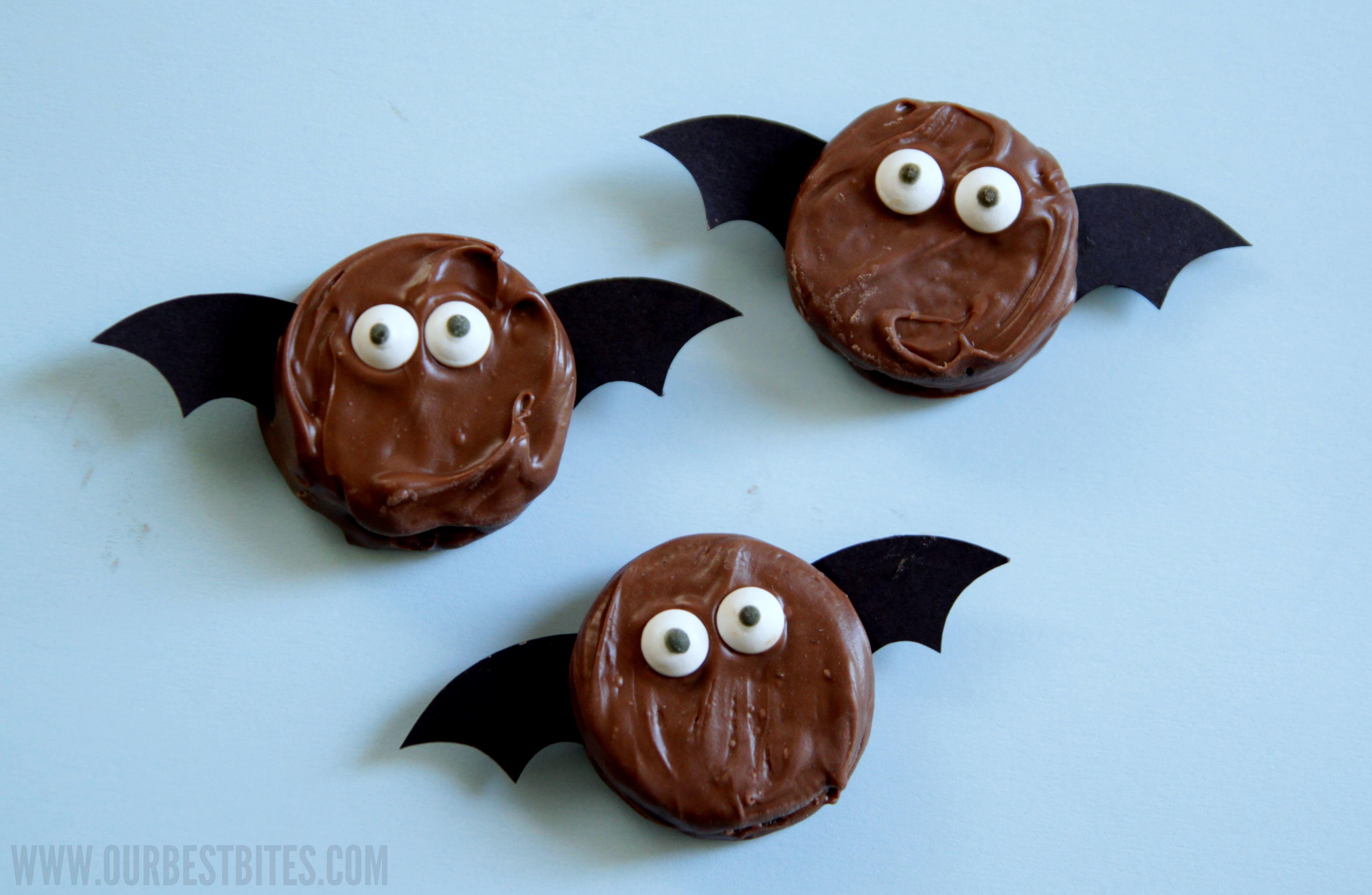 Not So Spooky Oreo Bats