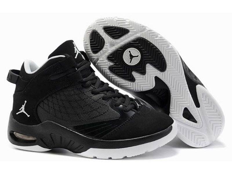 Store Jordan New school Junior Chaussures Basket_Ball Pour Garcon Noir  469955-010 nike jordan enfant