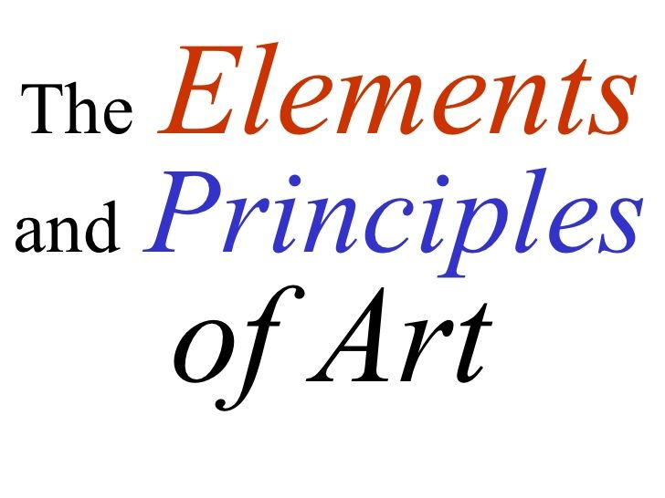 Elements And Principles of Art awesome slideshow | Videos ...