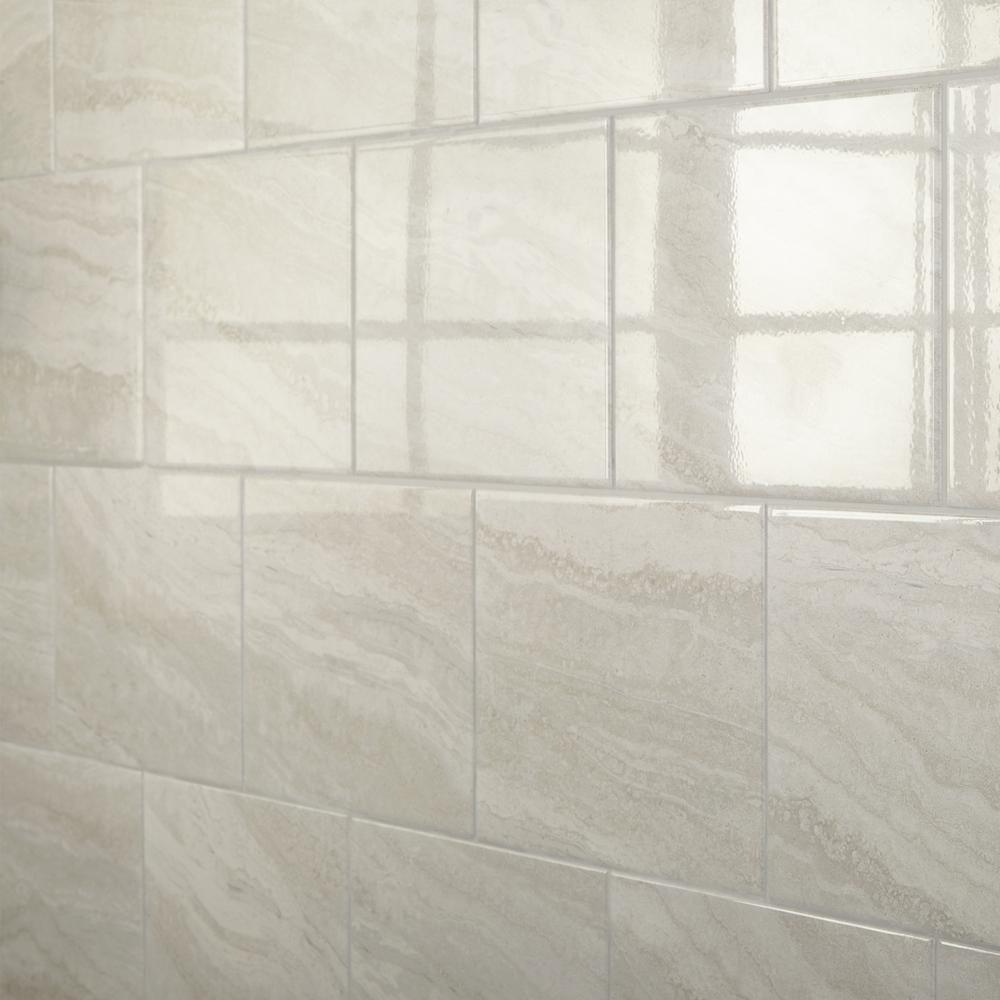 Daltile Hamilton Linear Gray 10 In X 14 In Ceramic Wall Tile 14 25 Sq Ft Case Ha021014hd1p2 The Home Depot In 2020 Ceramic Wall Tiles Wall Tiles Daltile