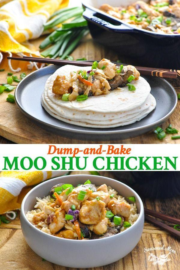 dumpandbake moo shu chicken  recipe  moo shu chicken