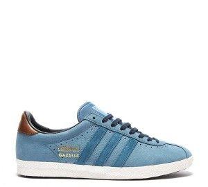 Vente Homme Adidas Originals Gazelle OG Trainer Bleu Encre Pas Cher Paris… 4a7d31873a32