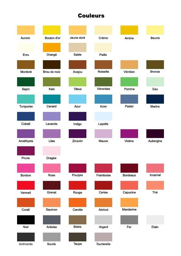 couleurs french pinterest french colors rouge and chart