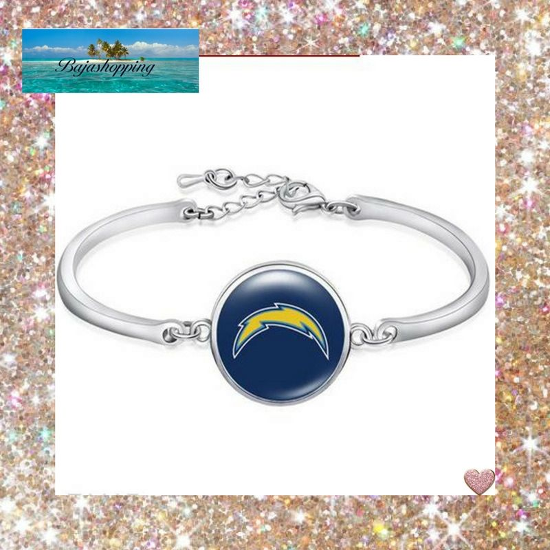 Los angeles chargers bangle bracelet 10 piecesjewelry