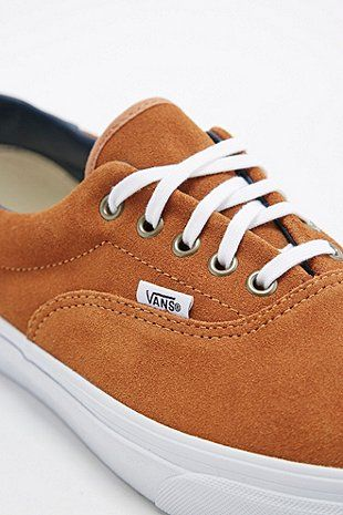 ca01ebd1f869de Vans Era 59 Suede Trainers in Brown Sugar - Urban Outfitters My shoes!