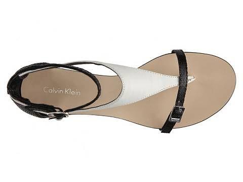 Calvin Klein Samika Flat Sandal | DSW