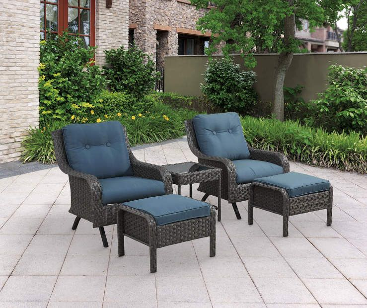 I found a Pebble Beach 5Piece All Weather Wicker Motion