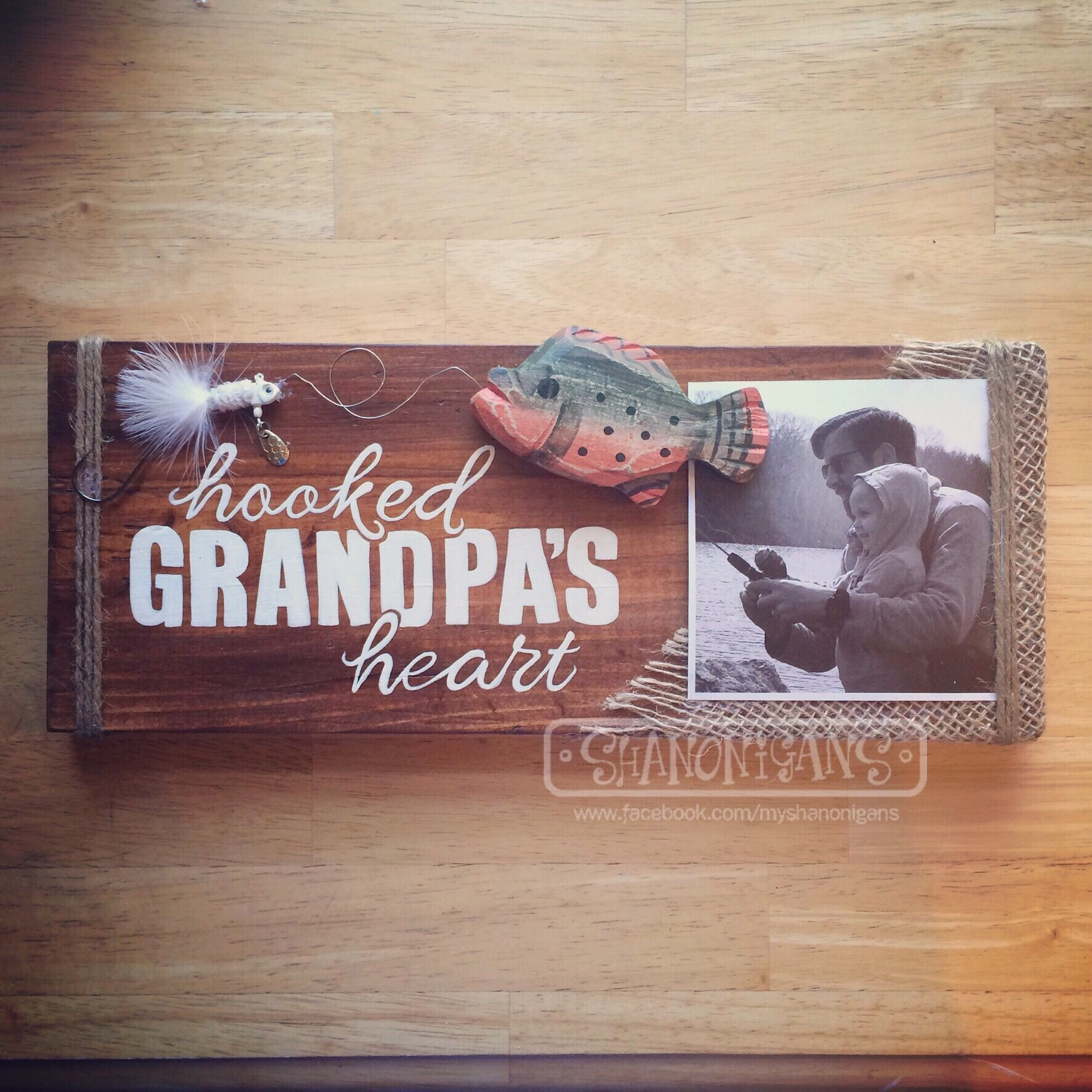 Father's Day Is Just Around The Corner. Need Gift Ideas? How About A Custom Hand Painted Sign