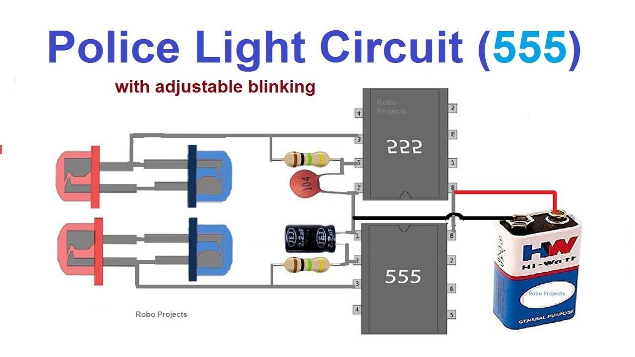 Led Police Lights Circuit