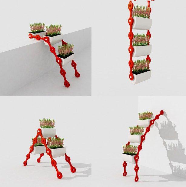 Pflsk modular vertical gardening system dise o - Jardineras de diseno ...